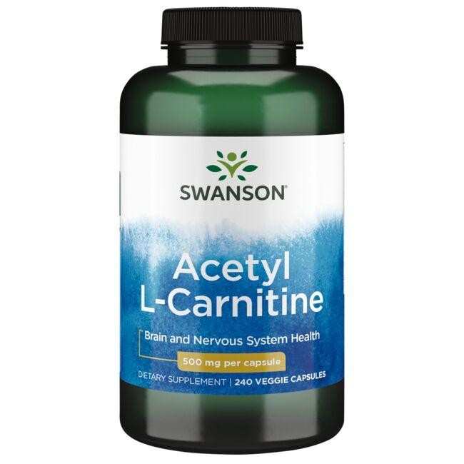 New Look Swanson PremiumAcetyl L Carnitine