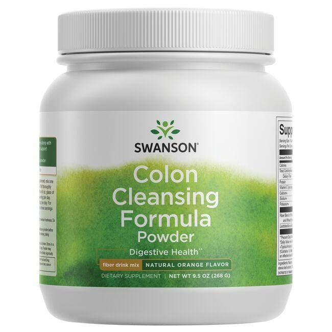 Swanson Premium Colon Cleansing Formula - Natural Orange Flavor