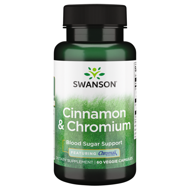 Swanson PremiumCinnamon & Chromium with Chromax