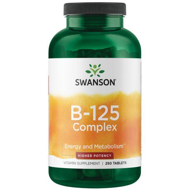 Swanson PremiumVitamin B-125 Complex - High Potency