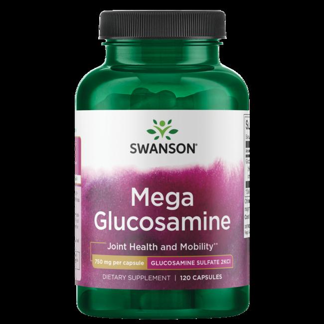 Swanson PremiumMega Glucosamine Glucosamine Sulfate 2KCl