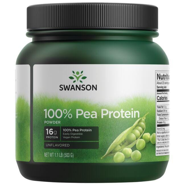 Swanson Premium100% Pure Pea Protein