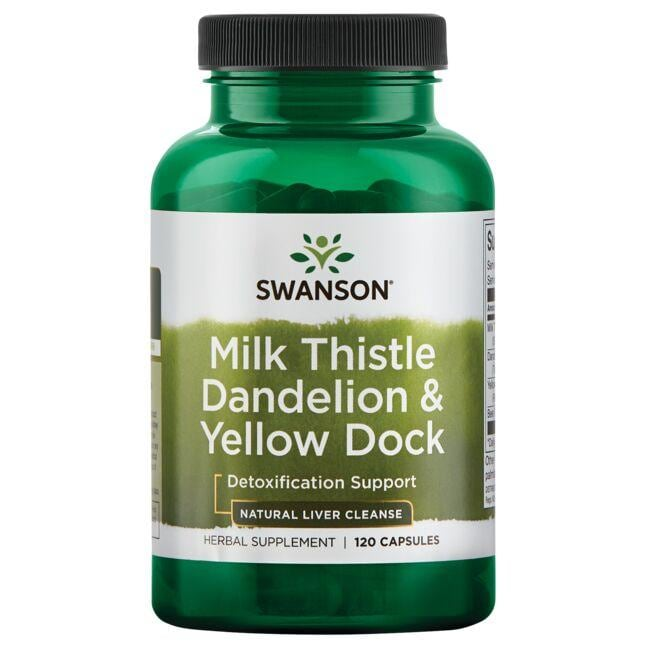 Swanson Premium Milk Thistle Dandelion & Yellow Dock