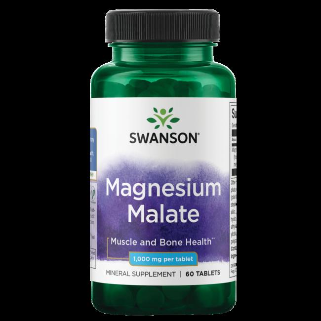 Swanson PremiumMagnesium Malate (150 mg Elemental)