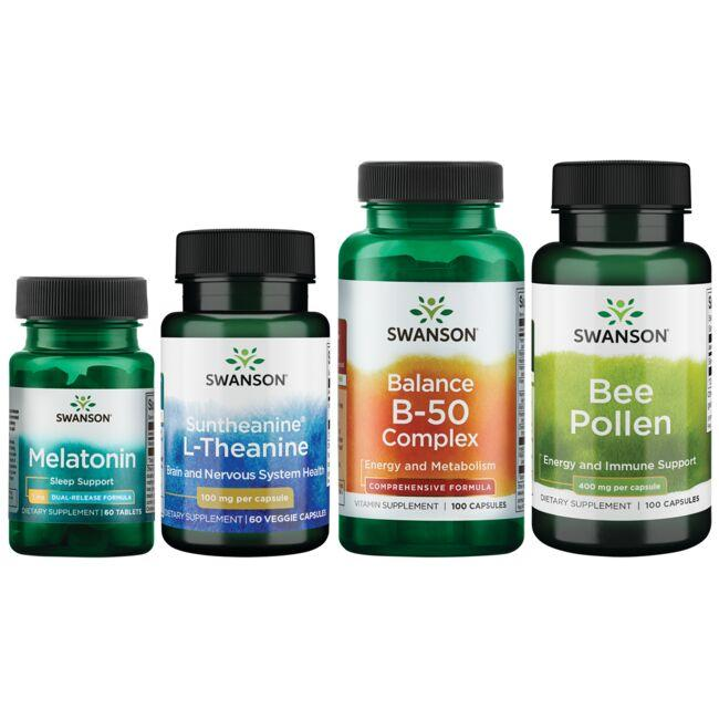 Swanson Health Products, Inc. Morning, Noon & Night Bundle