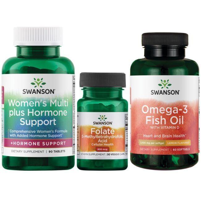 Swanson Health Products, Inc. Women's Bundle 1 Kit Women's Health