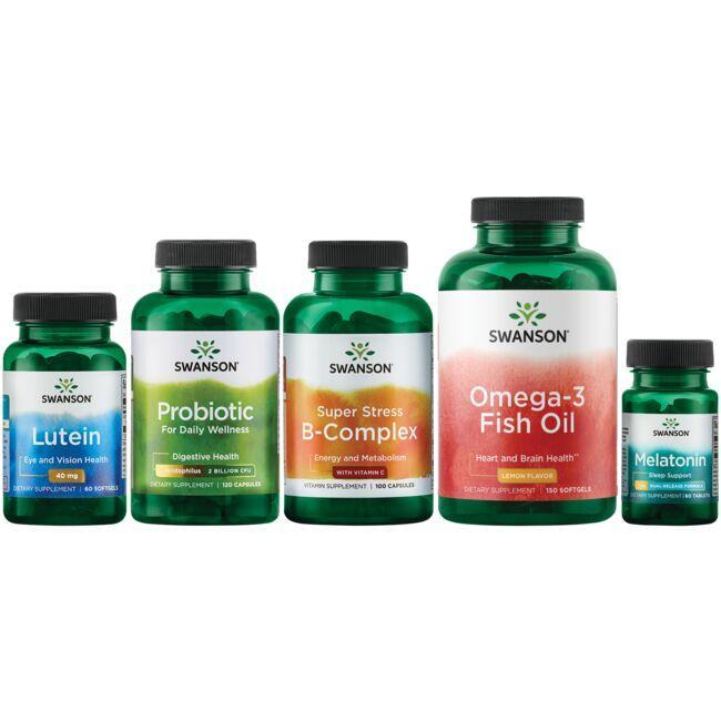 Swanson Health Products, Inc.Basic Antidotes Bundle