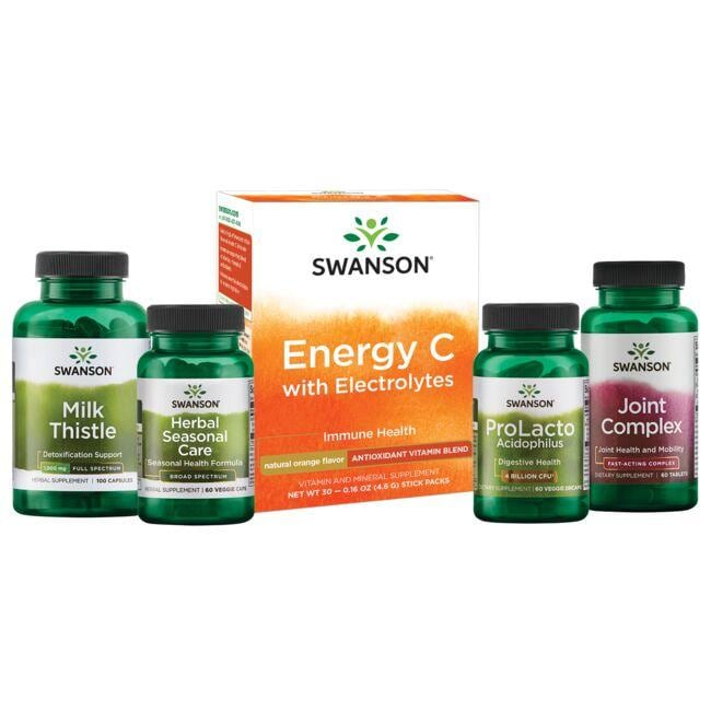 Swanson Health Products, Inc. Spring Antidotes Bundle