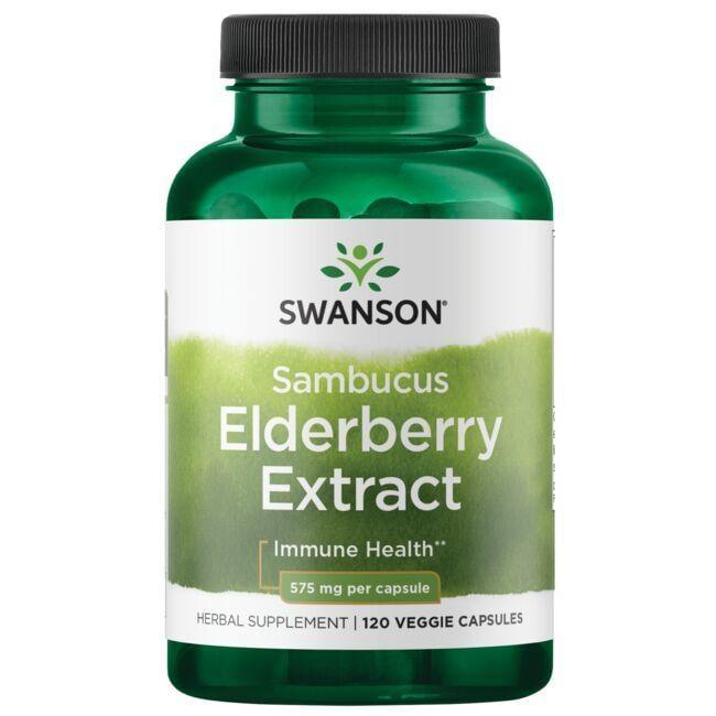 Swanson PremiumSambucus Elderberry Extract