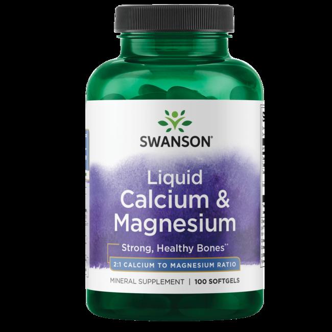 Swanson Premium Liquid Calcium & Magnesium