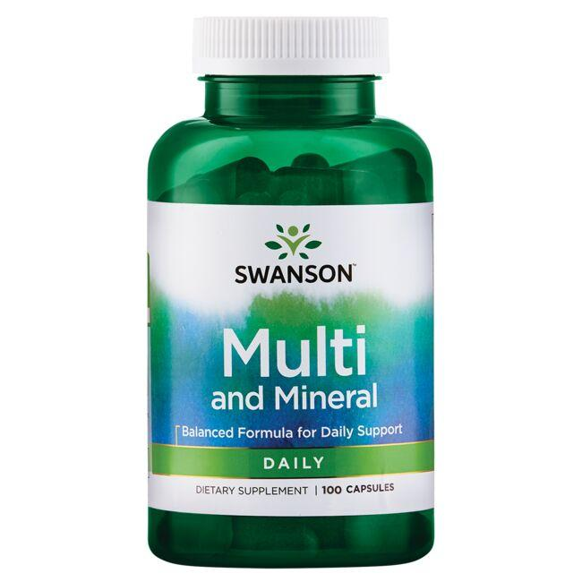 Swanson Premium Multi and Mineral - Daily