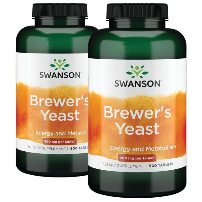 Swanson Premium Brewer's Yeast - 2 Pack
