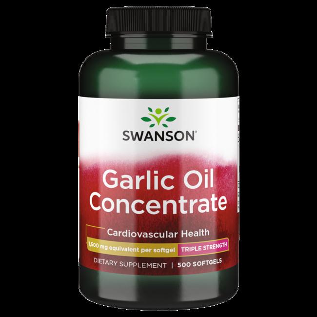 Swanson Premium Garlic Oil