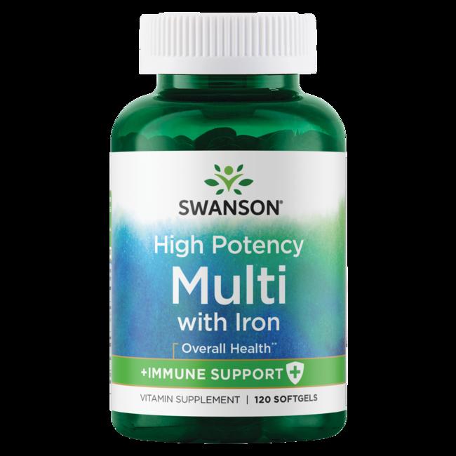 Swanson Premium High Potency Softgel Multi