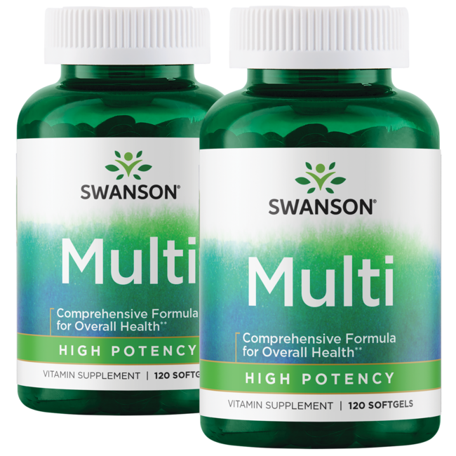 Swanson Premium High Potency Softgel Multivitamin