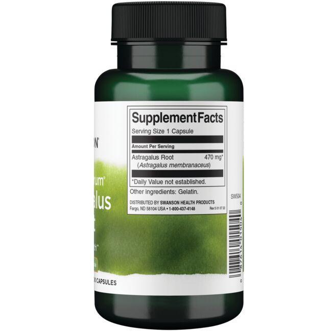 Swanson PremiumFull Spectrum Astragalus Root Close Up