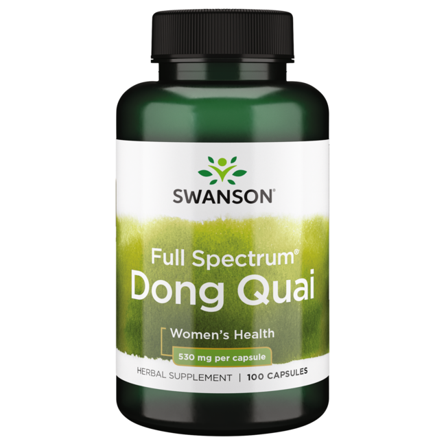 swanson premium dong quai 530 mg 100 caps - swanson health products, Skeleton