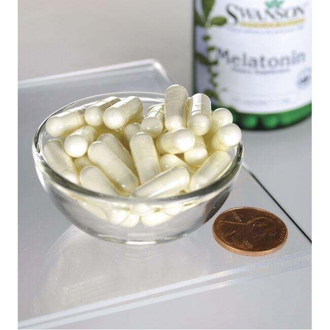 Swanson PremiumMelatonin Close Up