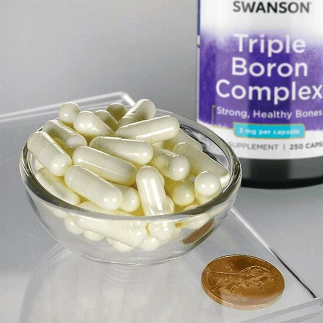 Swanson Premium Triple Boron Complex Close Up