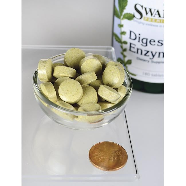 Swanson Premium Digestive Enzymes Close Up