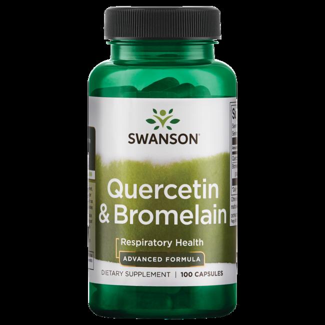 Swanson PremiumQuercetin & Bromelain