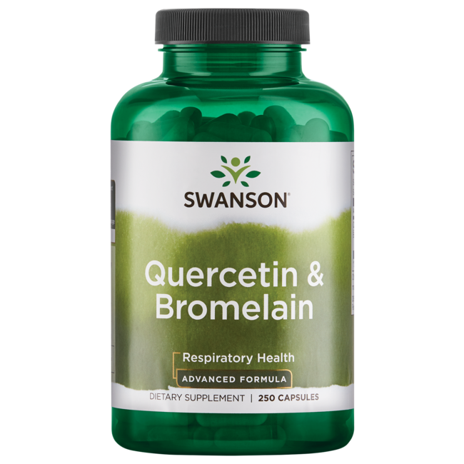 Quercetin bromelain supplement