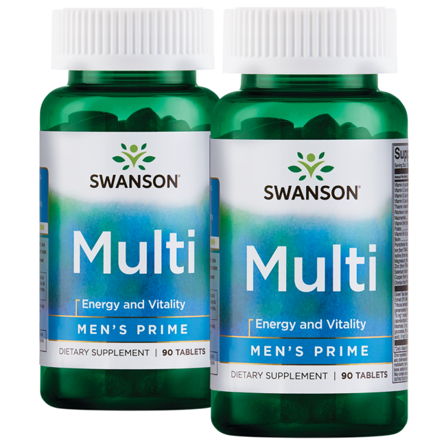 Swanson Premium Men's Prime Multivitamin