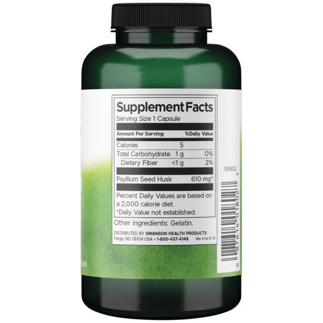 Swanson PremiumPsyllium Husks Close Up