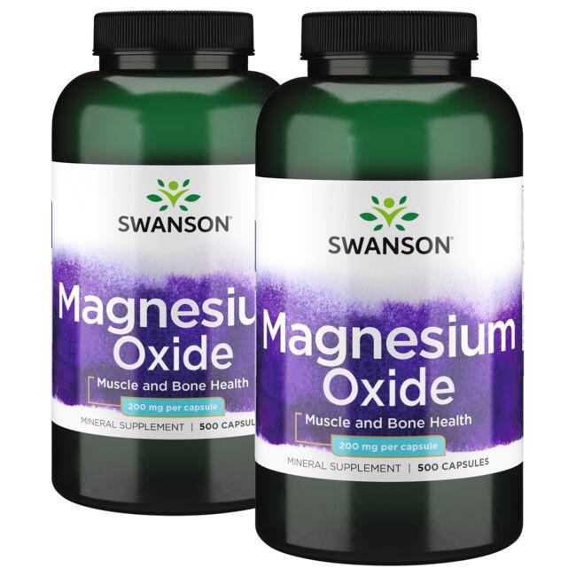Swanson PremiumMagnesium - 2 Pack