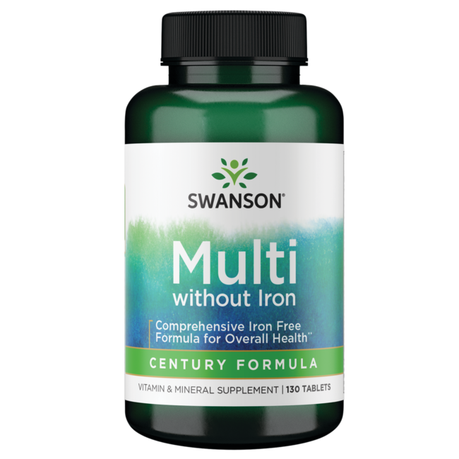 Swanson PremiumCentury Formula Multivitamin without Iron