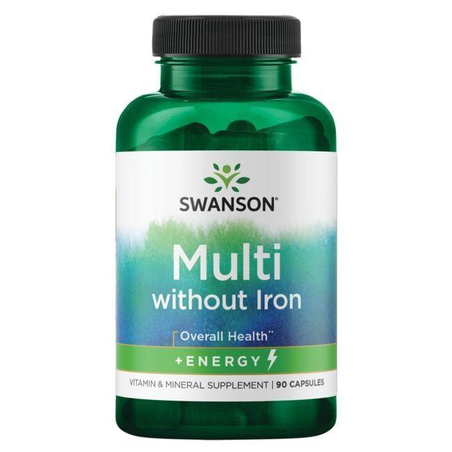 Swanson PremiumMulti without Iron - Active One Formula