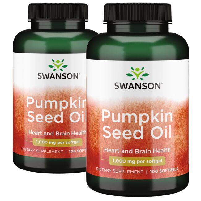 Swanson PremiumPumpkin Seed Oil - 2 Pack