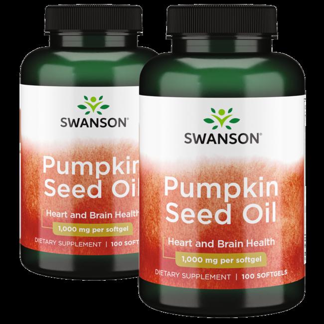 Swanson Premium Aceite de semilla de calabaza