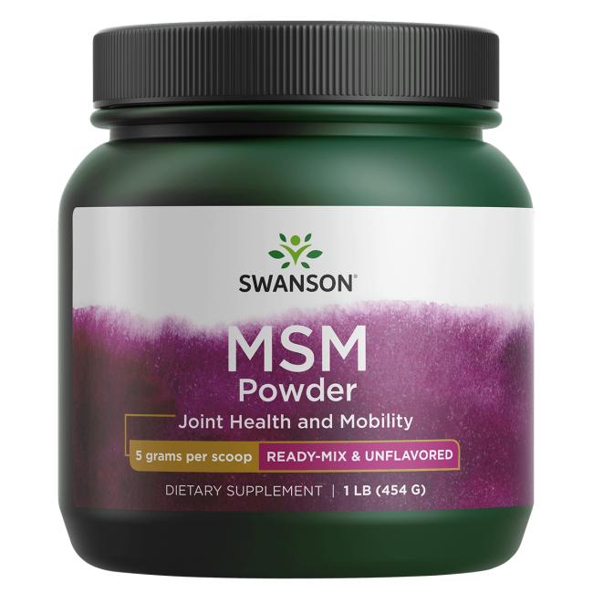 Swanson Premium MSM Powder - Ready-Mix & Unflavored