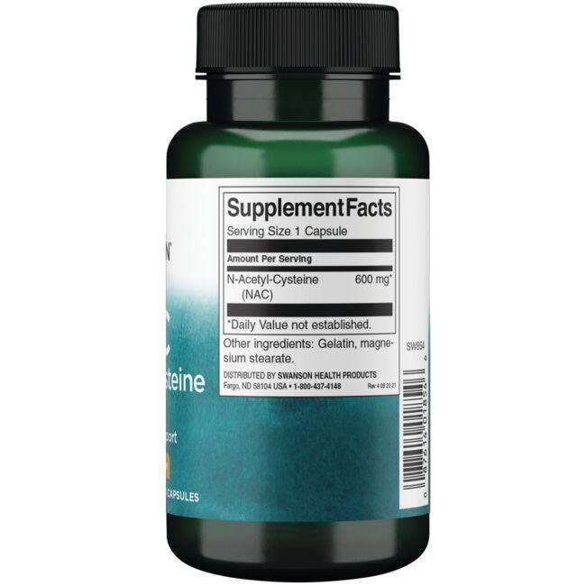 Swanson PremiumN-Acetyl Cysteine Close Up