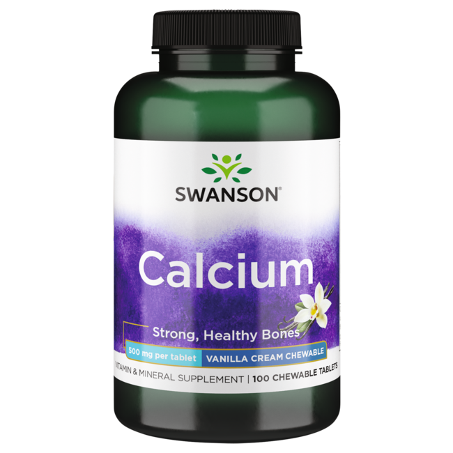 Swanson Premium Chewable Calcium