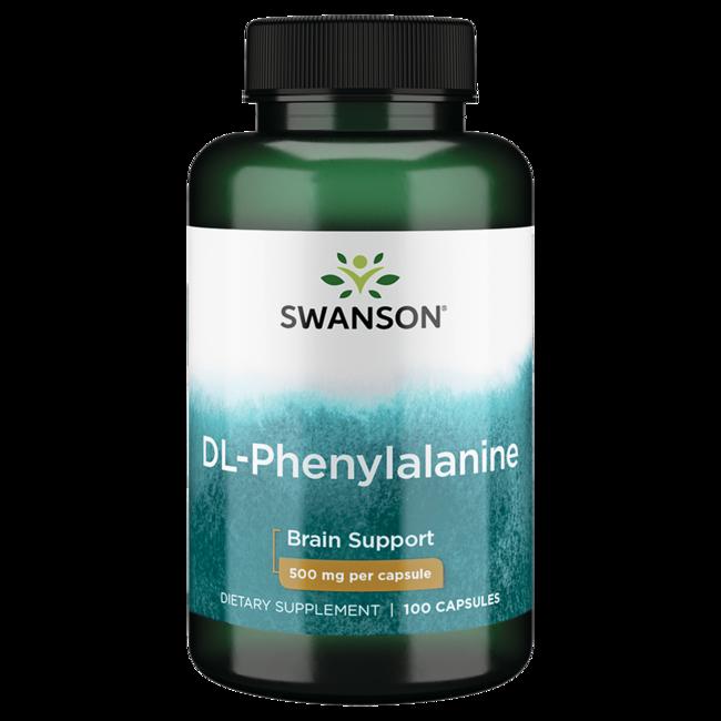 Tu Salud en Veo y Compro de Swanson Premium DL-fenilalanina 500 mg 100 Caps Productos para  + DL-fenilalanina en Veo y Compro