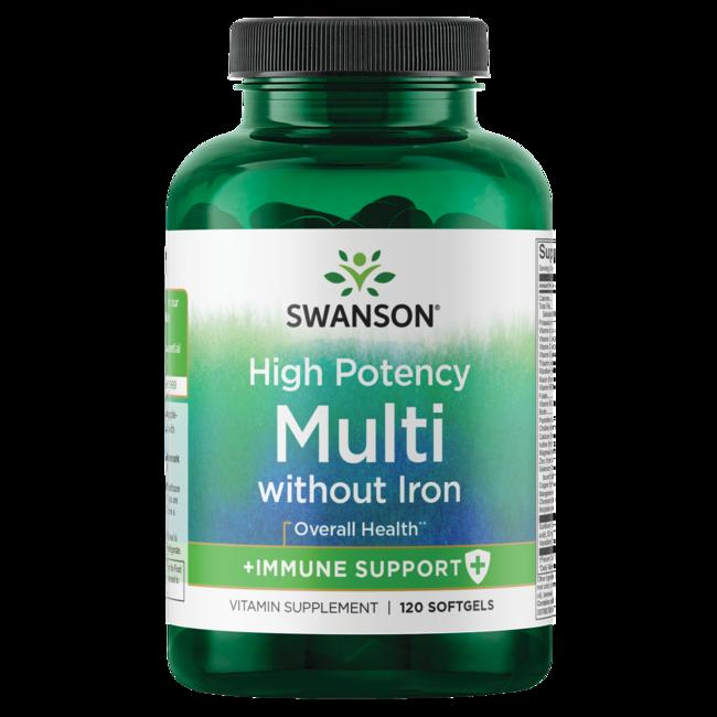 Swanson PremiumMulti without Iron, High Potency