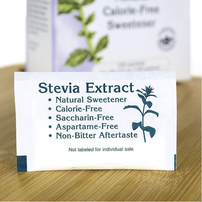 Swanson Premium Green Leaf Stevia Extract Close Up