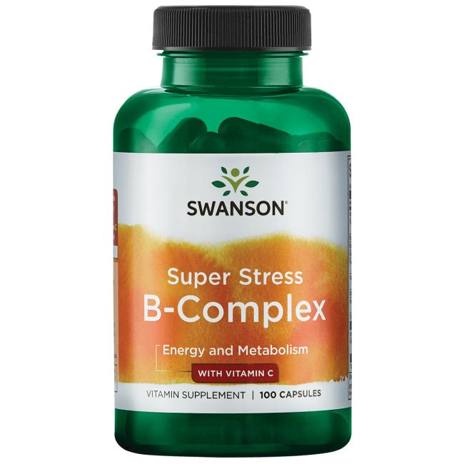 Swanson Premium Super Stress B-Complex with Vitamin C