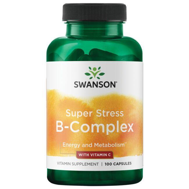 Swanson PremiumSuper Stress B-Complex with Vitamin C