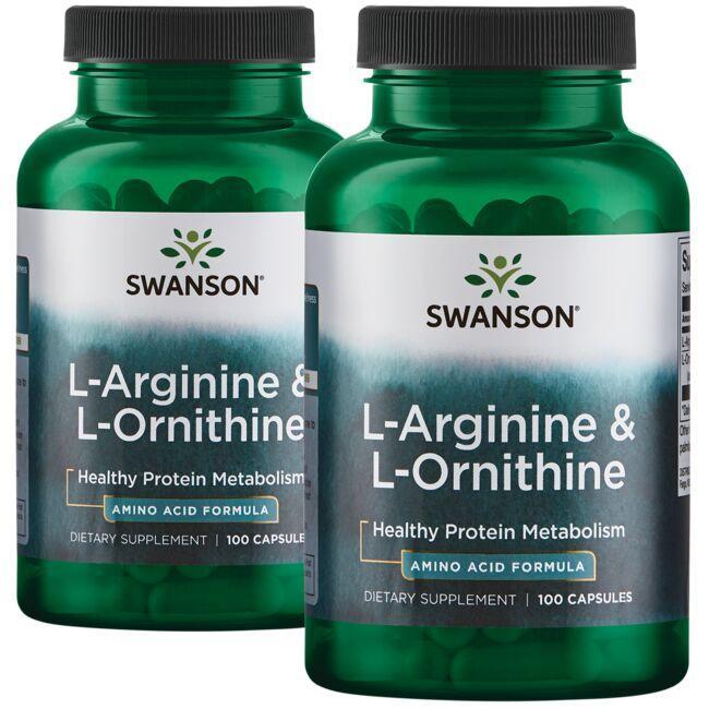 Swanson PremiumL-Arginine & L-Ornithine