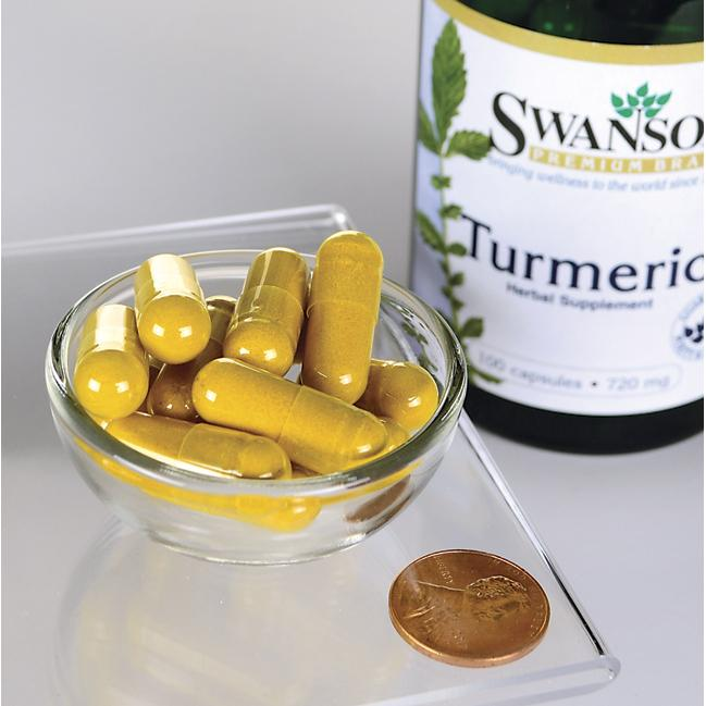 Swanson Premium Full Spectrum Turmeric Close Up