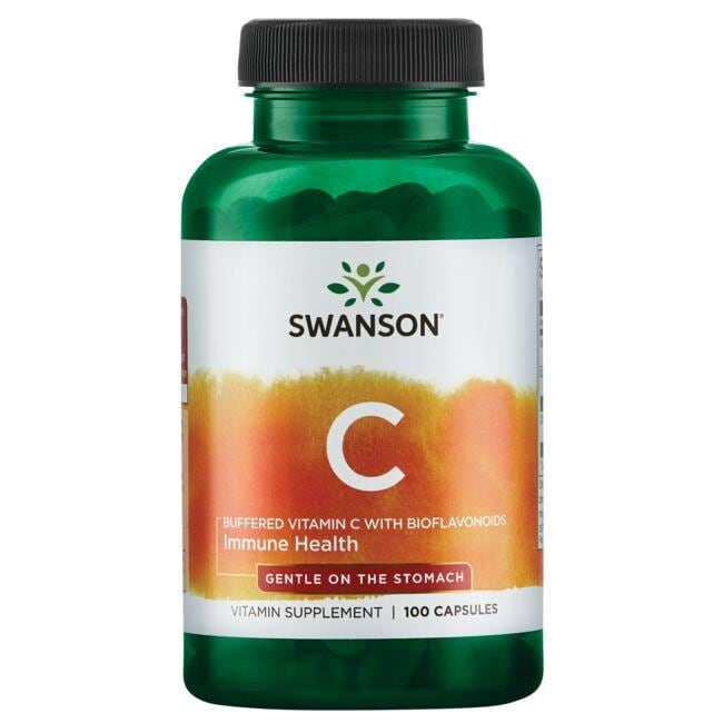 Swanson Premium Buffered Vitamin C with Bioflavonoids