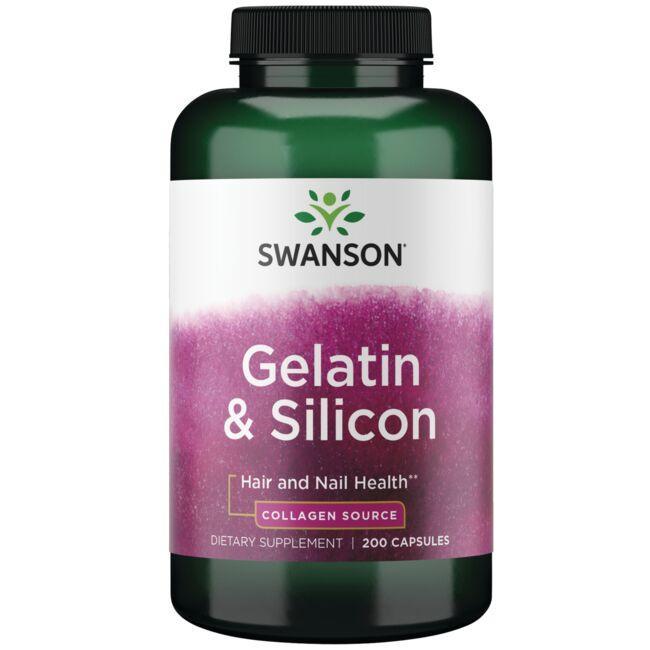 Swanson PremiumGelatin & Silicon
