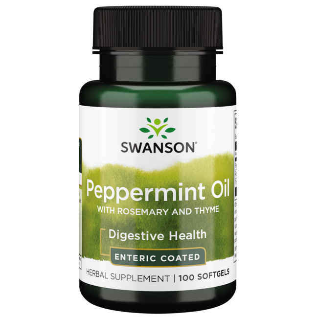 Swanson Premium Peppermint Oil Combination