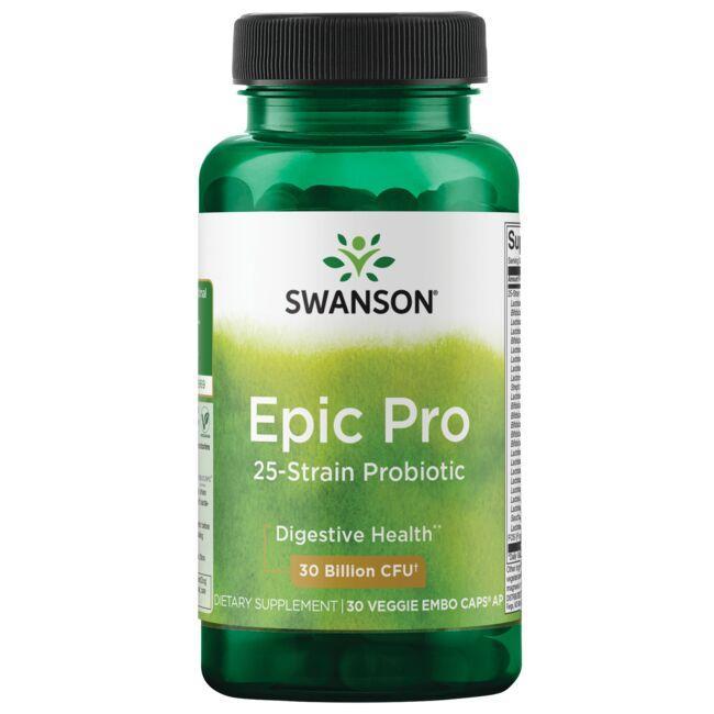 Swanson ProbioticsEpic Pro 25-Strain Probiotic