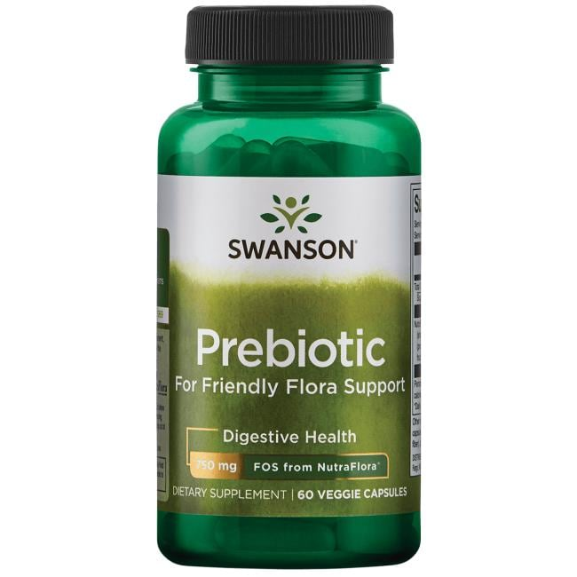 Swanson Probiotics Prebiotic for Friendly Flora Support
