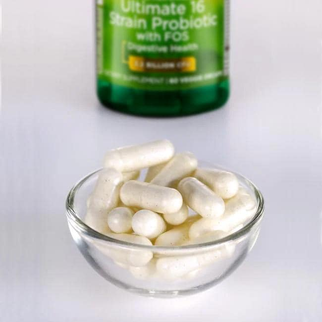 Swanson Probiotics Dr. Stephen Langer's Ultimate 16 Strain Probiotic  with FOS Close Up
