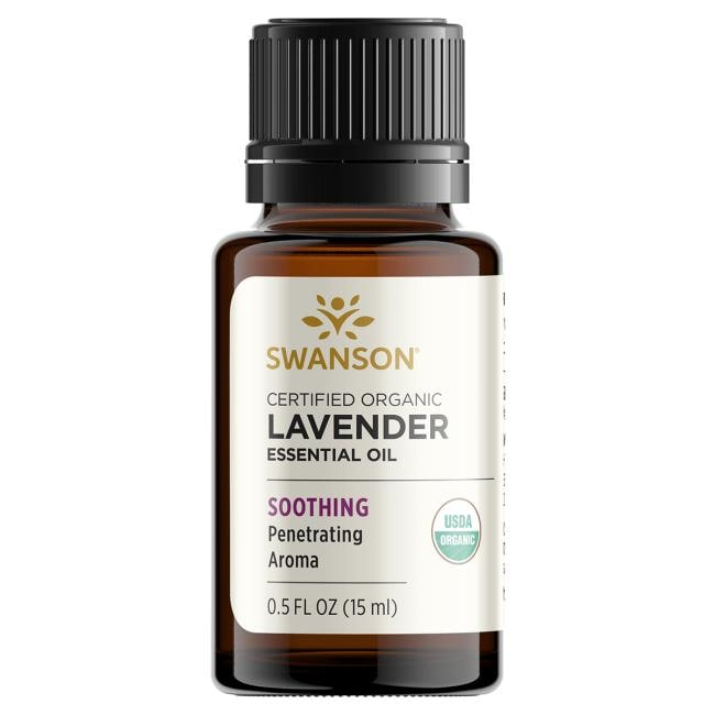 Swanson AromatherapyCertified Organic Lavender Essential Oil